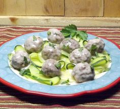 Angels Home Sweet Homestead: Swedish Meatballs with Zucchini Ribbons #SundaySupper