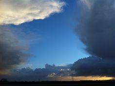 Heaven is breaking through #skies