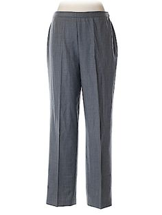 Trousers Designer Clothing at up to off retail price! Discover over brands of hugely discounted clothes, handbags, shoes and accessories at thredUP. Trousers Women, New Woman, Second Hand Clothes, Pajama Pants, Sweatpants, Gray, Nice, Design, Fashion