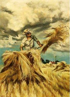 Joe (Joseph John) Jones was a painter, illustrator,  lithographer. Self taught,
