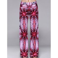 Stylish Elastic Waist Printed Loose-Fitting Pants For Women 13.27 USD