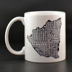 Nicaragua Mug - MapMyState.com