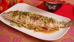 BBC - Food - Recipes : Steamed Cantonese-style fish