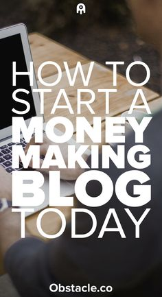 Everyone wants to start a blog, but you want to start a money-making blog! If you are trying to figure out how to make money by blogging here are the first steps to getting started making money with a blog.