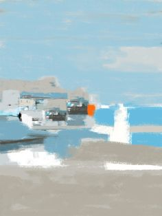 tableau peinture corse paysage mer peinture au couteau acrylique les voiles blanches tableau. Black Bedroom Furniture Sets. Home Design Ideas
