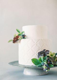 Botanical Wedding Cakes Captured by Jen Huang - Mon Cheri Bridals