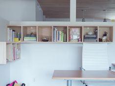 shelving -- design for mankind's new office