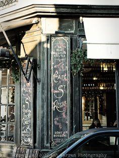 Cafe Ile Saint Louis Paris, France