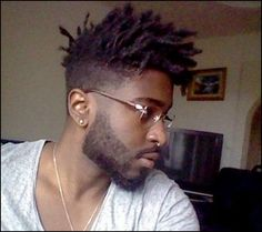 Black hair styles are ultimately very cool as they define your naturally black hair to perfection.Black hair styles are unique in their own way. Black Men Haircuts, Black Men Hairstyles, Afro Hairstyles, Male Haircuts, Hairstyles 2016, Medium Hairstyles, Wedding Hairstyles, High Top Dreads, Short Dreads