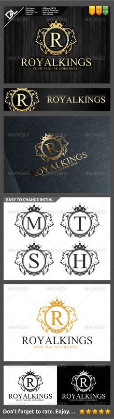 Royal Kings - Crests Logo Templates