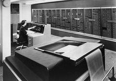 IBM NORC Computer (1955).