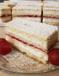 Hungarian Desserts, Hungarian Recipes, Sweet Recipes, Cake Recipes, Salty Snacks, Creative Cakes, Vanilla Cake, Food Porn, Food And Drink