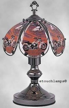 14 Inch Motorcycle Touch Lamp |http://www.bikeraa.com