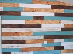 Studio Sunday - Distressed Plank Wall