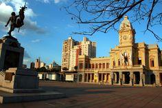 Praça da Estação, no centro da capital mineira. Crédito: Funasa