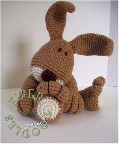 INSTANT DOWNLOAD : KISS Series Bunny par FiberDoodlesbyK4TT