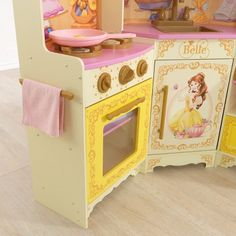 KidKraft Disney Princess Belle Pastry Kitchen Girl Nursery, Girls Bedroom, Bedroom Ideas, Disney Home, Disney Dream, Toy Kitchen Set, Diy And Crafts, Crafts For Kids, Disney Princess Belle
