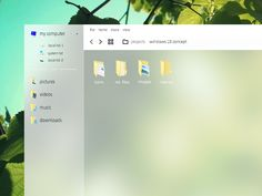 File Explorer - Windows 10 Concept by @crtivo on @dribbble https://dribbble.com/shots/1853625-File-Explorer-Windows-10-Concept  #windows #concept #win10 #ux #ui #design #app #dribbble
