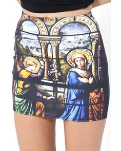 Black Milk Cathedral Skirt