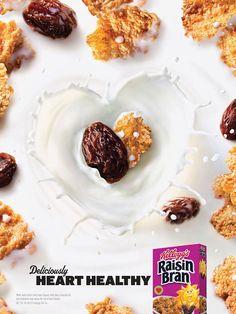 Kellogg's Raisin Bran Cereal Advertising