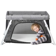Lotus Everywhere Travel Crib and Bassinet - compact sleeping option made without scary chemicals.