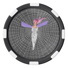 Doomed Fairy Poker Chips  $3.45  by HallowsEdge  - cyo customize personalize diy idea