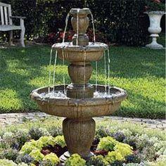 Backyard Fountain Ideas small water feature powered water fountain for small garden solar powered water fountain Florance Casas Outdoor Fountain