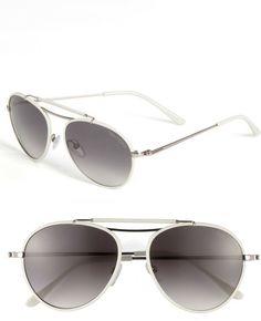 4fc72327c0 Tom Ford Aviator Sunglasses in Black (light ruthenium) - Lyst Black Aviator  Sunglasses