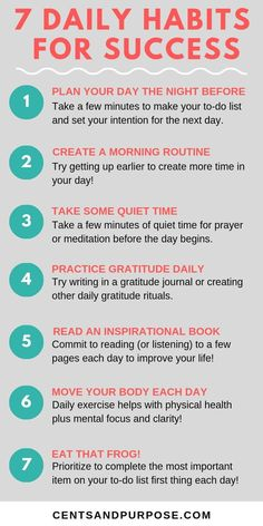 Success habits to win the day! - Business Management - Ideas of Business Management - Daily habits and tips to adopt for entrepreneurs to win the day! These success tips will increase productivity improve time management and help advance your career! Good Habits, Healthy Habits, Habits Of Successful People, Managing People, How To Become Successful, Mental Training, Self Care Activities, Leadership Activities, Planning Your Day