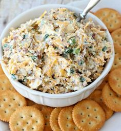 vegan neiman marcus dip  total time: 15 mins  serves: 20-25  ingredients:  4 cups shredded vegan cheese - cheddar or mix blend  1 cup chopped green onions  1 cup slivered almonds  1 pkg of bacon bits (they're vegan!)  2 cups just mayo or vegenaise  instructions:  mix all ingredients together in a large bowl. refrigerate until ready to serve.  serve with crackers, fritos scoops, or tortilla chips.