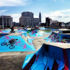 Skate park - Le Havre #seinemaritime