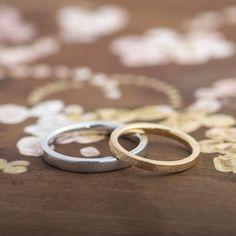 ゴールド,槌目/マリッジリング:Tsutime aki(槌目秋) [K18 gold,marriage,ウエディング,wedding ]