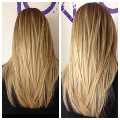 Long layers and ombré.  Cut by Shannon at Zinke Knoebel Hair Studio in Boulder, CO. www.hairsaloninboulder.com