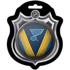 St. Louis Blues Sher-Wood Stitch Hockey Puck - $9.99