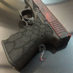 Airsoft hub is a social network that connects people with a passion for airsoft. Talk about the latest airsoft guns, tactical gear or simply share with others on this network Custom Glock, Custom Guns, Glock Stippling, Battle Rifle, Assault Weapon, Military Guns, Airsoft Guns, Guns And Ammo, Firearms