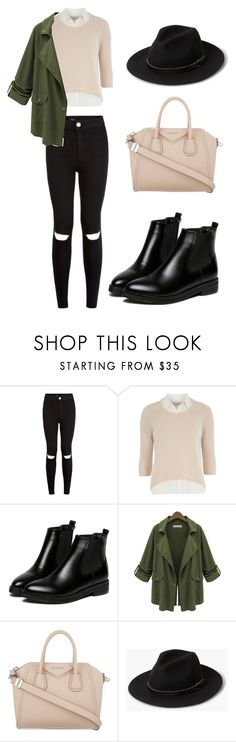 """""""outfit11"""" by matildegiorgi14 on Polyvore featuring moda, Dorothy Perkins, WithChic, Givenchy e MANGO"""