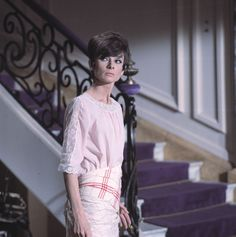 The Fashion of Audrey — The actress Audrey Hepburn (as Nicole Bonnet)...