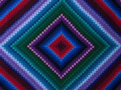 Postage Stamp Color Splash Quilt -- outstanding smartly made Amish Quilts from Lancaster (hs6936)