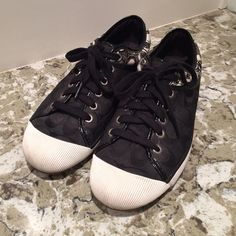 Coach Zorra shoes Authentic coach shoes. These were given to me as a gift and I only wore them a few times. Coach Shoes Sneakers
