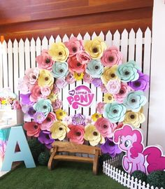 If you have a little girl who loves My Little Pony than you must see this darling My Little Pony Birthday Party submitted by Pauline Pascual of Whimsy Chic Events out of Cagayan de Oro City, Philippin