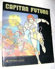 CAPITAN-FUTURO-Captain-Future-80-Panini-sticker-book-album-figurine-incompleto Sticker Books, Album Book, Tarzan, Stickers, Future, Memes, Poster, Ebay, Future Tense