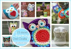 15 Most Charming Owls Crafts2