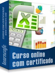 Curso online com certificado! Curso de Excel Básico/2010 - Específico para Concursos #learncafe - http://www.learncafe.com/blog/?p=2744