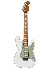 Resultado de imagen para dibujos a lapiz de guitarras electricas