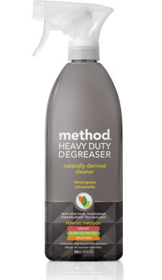 method heavy duty degreaser is naturally derived, non-toxic, mineral-based powergreen® technology targets tough food stains Method Cleaning Products, Stove Top Cleaner, Sustainable Energy, Health Facts, Lemon Grass, Cleaning Supplies, Cleaning Services, Cleaning Hacks, Drinking Water