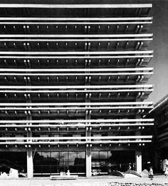 Kagawa Prefecture Administration Building, Takamatsu, Japan  (Kenzo Tange, 1955-58)