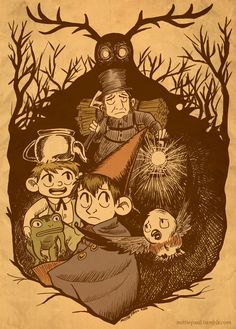 51 Best Over The Garden Wall Fan Art Images In 2016 Over The