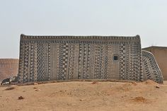 Cour Royale à Tiébélé - Burkina Faso