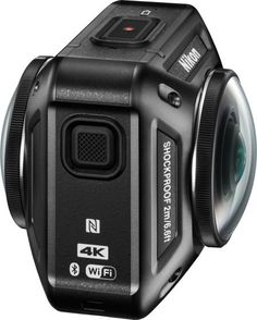 Nikon初のアクションカメラ「KeyMission 360」は4K対応&前後レンズ搭載で360度撮影が可能 - GIGAZINE