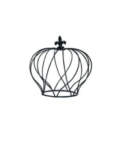 Weddingstar Large Wire Crown Embellishment for Cakes Matte Black *** Click on the affiliate link Amazon.com on image for additional details.